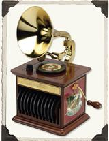 Harmonique Gramophone Tiny Records Phonograph