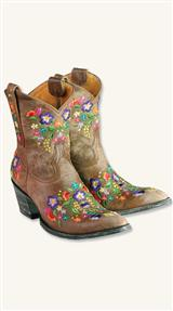 Pearl Reed Cowgirl Boots