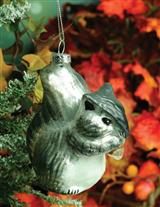 Christian Gray Squirrel Ornament