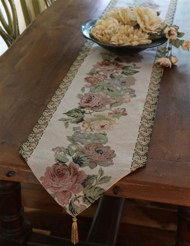 The Charlotte Inn Tapestry Runner