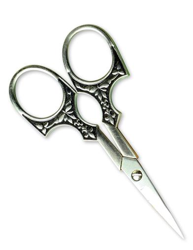Replica Embroidery Scissors (Gothic Pewter)