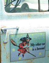 Witch Car Magnet