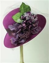 Louise Green Purple Haze Hat