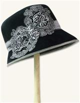 Louise Green Sterling Lace Cloche