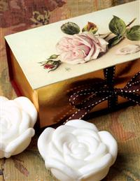 Gift Boxed Guest Soaps (Rose)