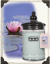 Water Lily Candle (Small Jar)