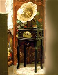 Edwardian Entertainment Cabinet With Stand