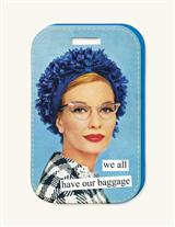 Anne Taintor Luggage Tag (Baggage)