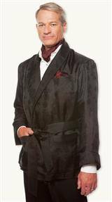 Pure Silk Debonair Smoking Jacket