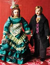 Victoria & Albert Dollhouse Dolls