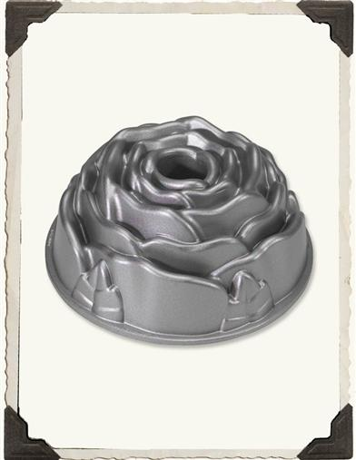 Perfect Rose Bundt Cake Mold