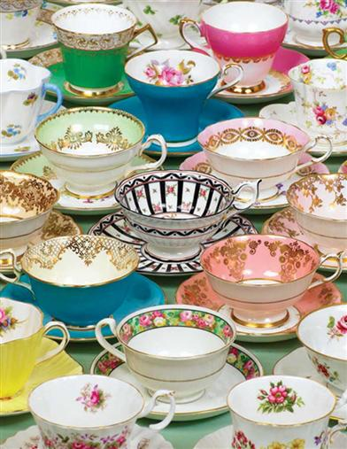From Havilland To Limoges Tea Cups Puzzle