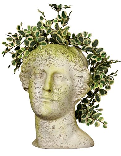 Apollo Head Planter