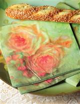Buttery Roses Paper Napkins (Set Of 16)