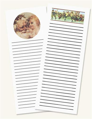 Holiday Memo Pads (Pair)