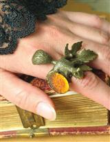 Finger Squirrels Adjustable Ring