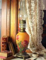 Vermont Cottage Oil Lamp