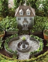 Miniature French Chateau Fairy Garden Kit