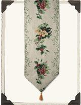 Hollyberry & Blossom Table Runner
