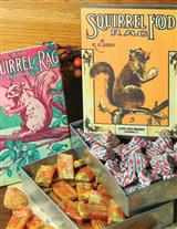 Squirrel Food Tins And Candy (Save On The Set)