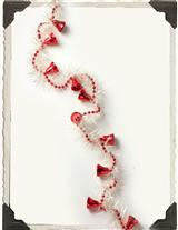 Deck The Halls Bell And Feather Garland