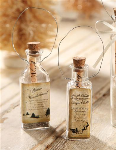 Messages In A Bottle (Pair)