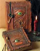 Evil Eye Spell Books (Set Of 2)