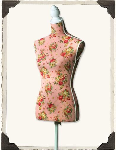 Chintz Dressform