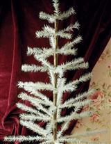 Feather Tree With Cast Iron Stand