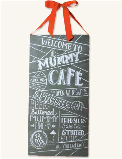 'Mummy Cafe' Chalkboard