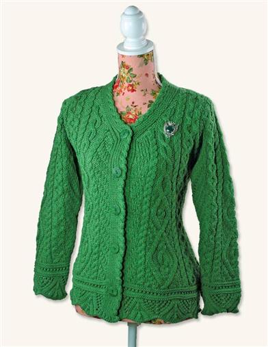 Dublin Dearie Irish Wool Cardigan