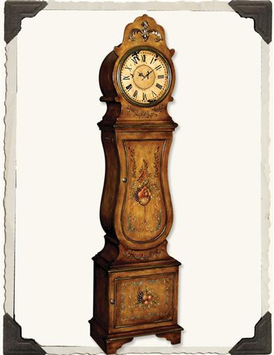 Old Orchard Grandfather Clock Shelf