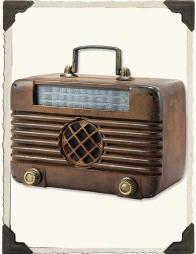 Old Time Radio Bluetooth Speaker