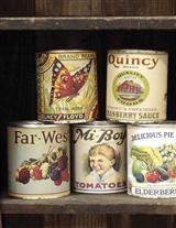 Produce Cans (Set Of 12)
