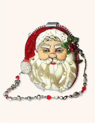 Mary Frances Ho Ho Ho Heirloom Bag