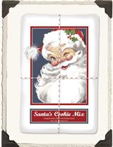 Santa's Cookie Mix & Flour Sack Towel