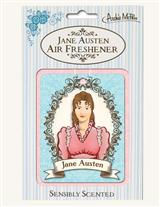 Jane Austen Air Freshener (Pair)