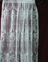 Gwendolyn's Garden Lace Curtain Panel