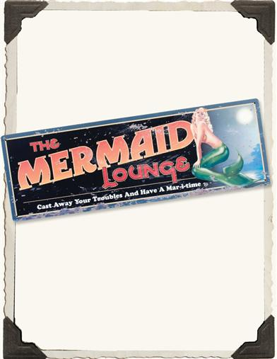 Mermaid Lounge Sign