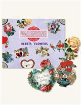 Hearts & Flowers Valentine Sticker Box