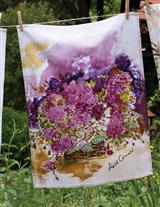 April Cornell Watercolour Tea Towel (Roses)