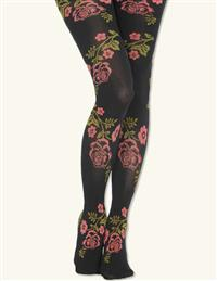 Edwardian Rose Tights