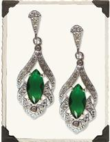Maureen O'hara Lavalier Earrings