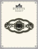 Downton Abbey Jet Jeweled Edwardian Brooch