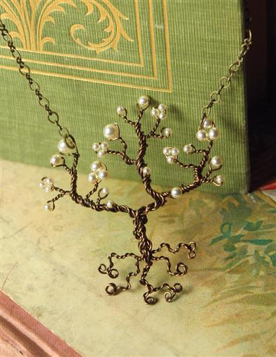 Robin Goodfellow Tree Of Life Necklace