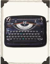Vintage Typewriter Laptop Sleeve