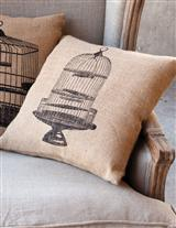 Canary Cages Toss Pillows