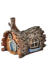 Fiddlehead Fairy Log House