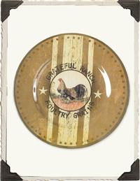 Poultry Grain Plate (Set Of 4)