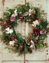 Sterling Roses Wreath